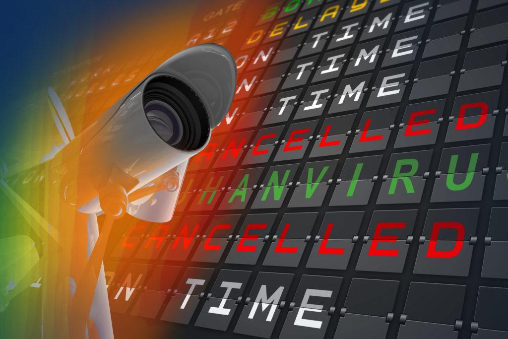 Smart camera surveillance coronavirus wuhan thermal checkpoints airport 1024x6831 1 - Kamera wykrywająca gorączkę