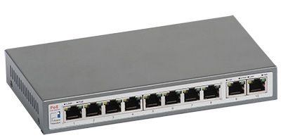 36 - Switch PoE ULTIPOWER 00108afat 802.3af/at 110W 10x RJ45 (8xPoE)