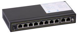 37 250x109 - Switch PoE ULTIPOWER PRO0208afat 802.3af/at 120W 10x RJ45 (8xPoE), PoE Auto Check