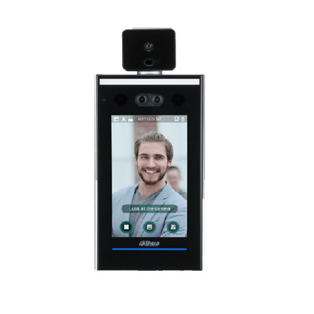 dahua asi7213x t1face recognition access controller and temperature measurement1 - Dahua DHI-ASI7213X-T1 Pomiar temperatury ciała, rozpoznawanie twarzy, kontrola dostępu